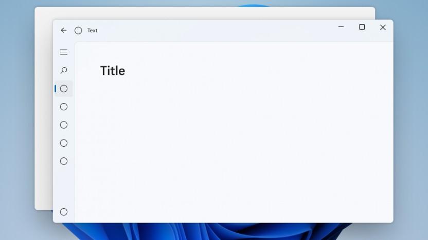 WinUI 2 ist bereits auf das Theme von Windows 11 vorbereitet.