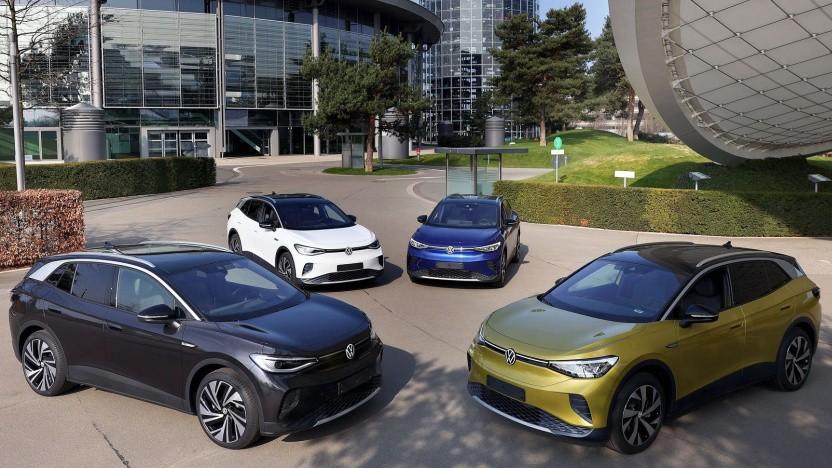 Elektroautos von VW