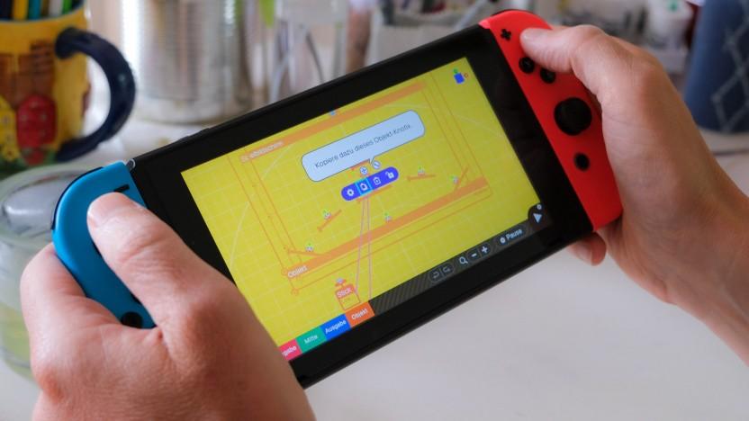 Spielestudio auf der Nintendo Switch