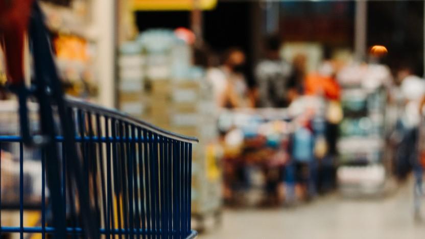Während in manchen Supermärkten die Kasse streikt, hoffen die Ransomware-Erpresser offenbar auf eine riesige Lösegeldzahlung. (Symbolbild)