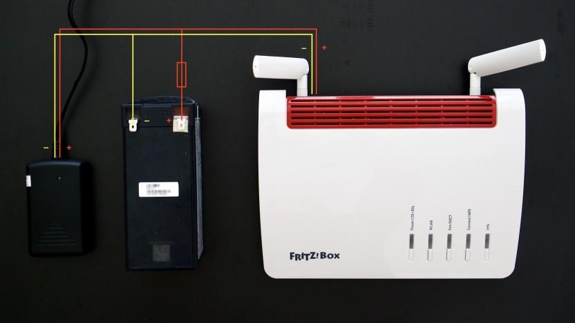 Unser Fritzbox-Bastelprojekt für den Stromausfall-Fall
