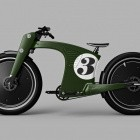 E-Bike: Crowncruiser greift auf Design alter Rennmotorräder zurück