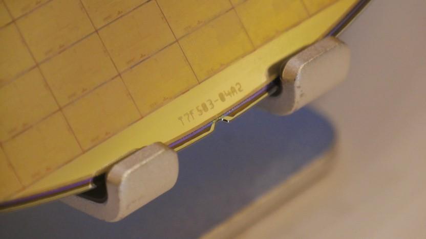 Ein TSMC-Wafer mit 7-nm-Chips