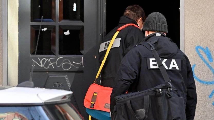 Die Daten aus dem Encrochat-Hack führten zu zahlreichen Razzien, an denen auch das BKA beteiligt war.