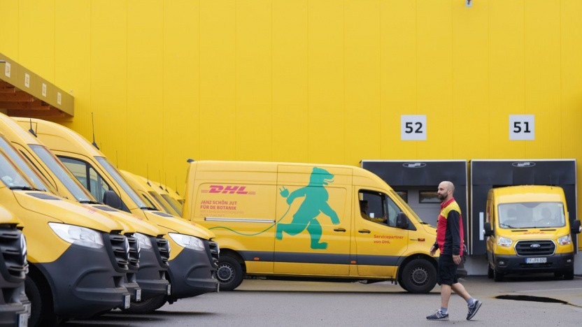 Elektroautos von DHL