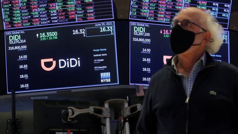 Börsengänge chinesischer Unternehmen in den USA, wie von Didi, machen der chinesischen Führung offenbar Sorge.