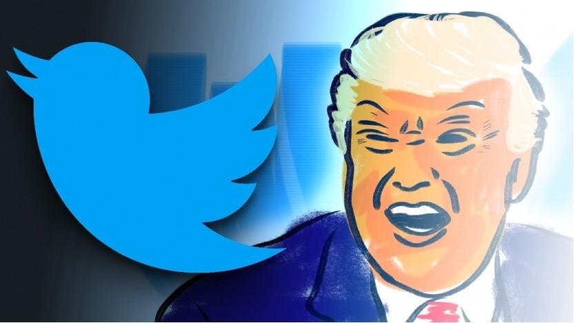 Trump will Klage gegen die CEOs von Facebook und Twitter einreichen.