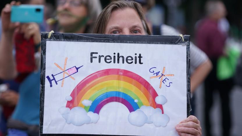 Querdenker-Demo in Berlin