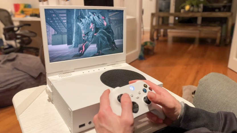 Xscreen mit Xbox Series S