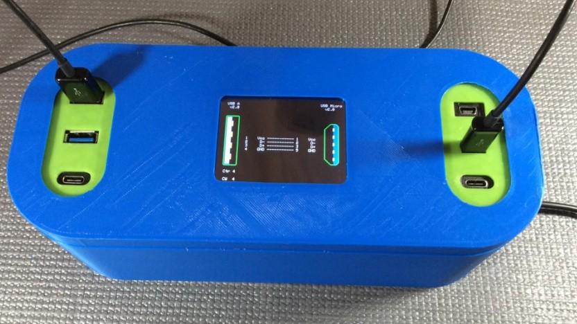 Der Arduino Cable Tracer ist für diverse USB-Typen ausgelegt.