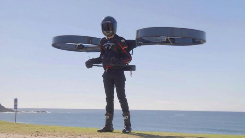 Elektrisches Jetpack von Copterpack