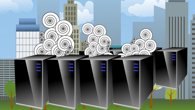 Rechenzentren generieren eine Menge Abwärme, die zum Heizen genutzt werden kann.