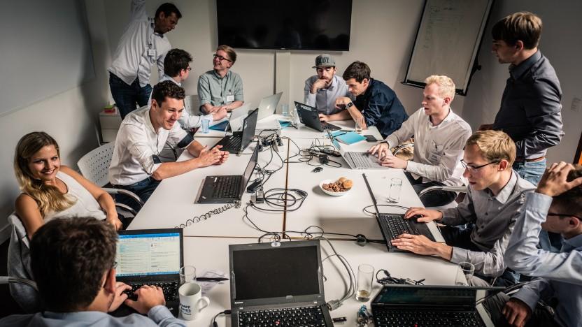 Aktuell eher virtuell, doch genauso agil: die Zusammenarbeit im Team bei Capgemini.