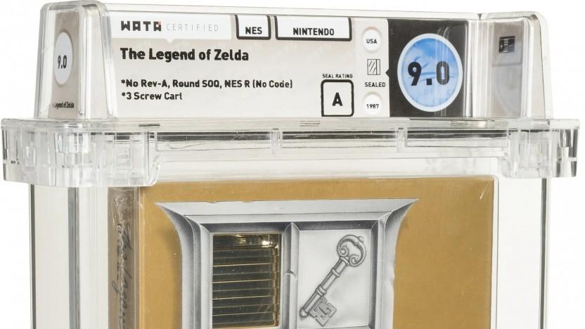 The Legend of Zelda für 870.000 US-Dollar