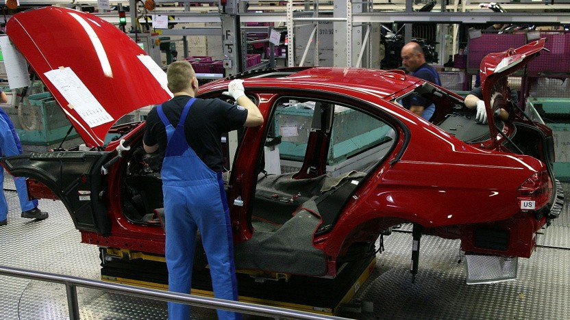Beim Autobau werden Halbleiter immer wichtiger.