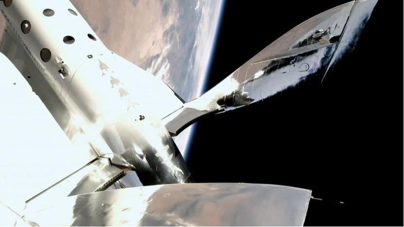 Spaceship Two erreichte eine Höhe von 86 Kilometern.