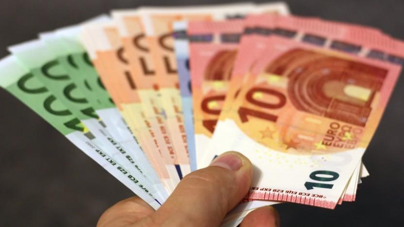 Noch Papier - der Euro