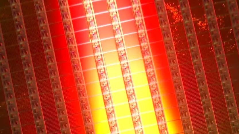 Flash-Chip-Wafer der zur Tsinghua Unigroup gehörenden YMTC