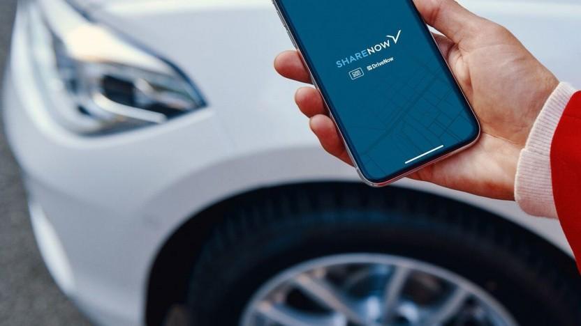 Die Carsharing-Angebote von Share Now lassen sich in Kürze auch via Free Now buchen.