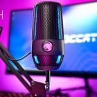 Streaming: Roccat bringt Standmikrofon für den Zockerkeller