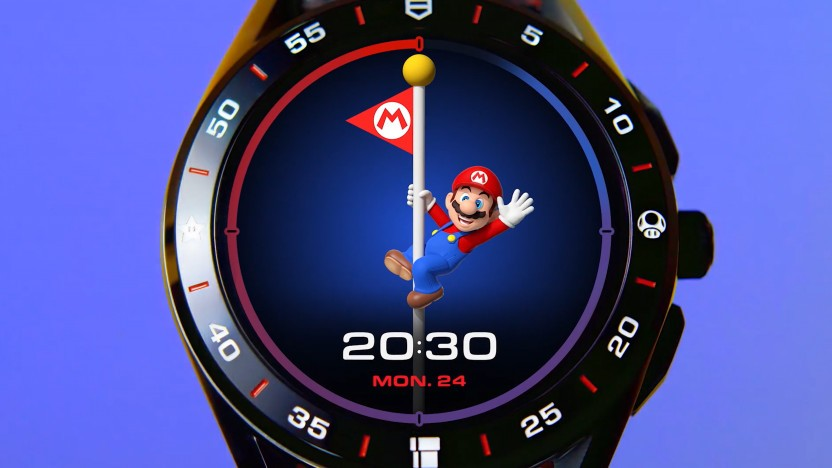 Artwork der Tag Heuer Connected X Super Mario Limited Edition