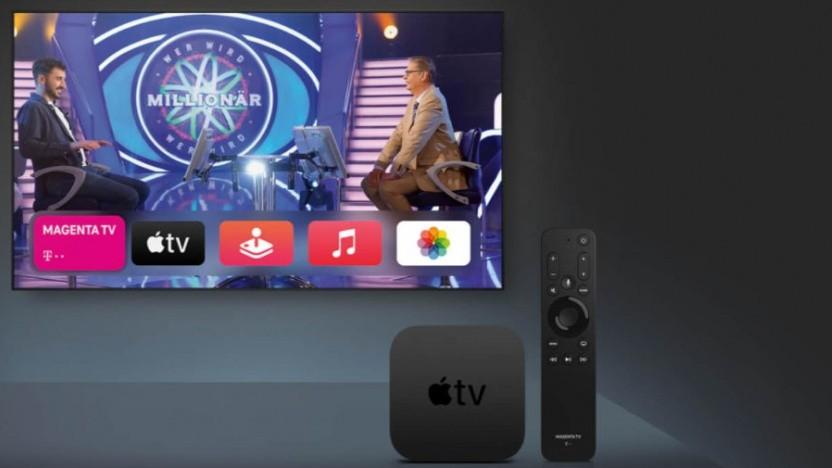 Apple TV 4K bei der Telekom mit spezieller Fernbedienung