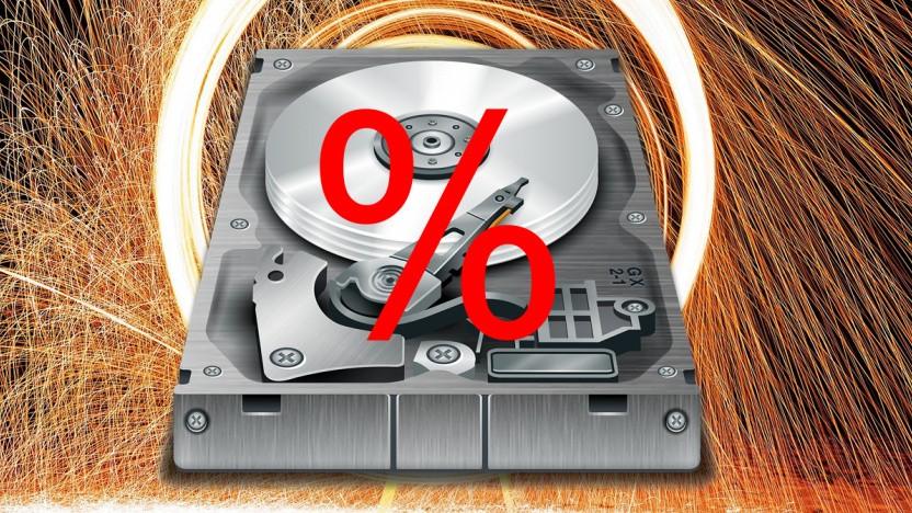 Western Digital gibt 40 Prozent Rabatt - mit Einschränkungen.