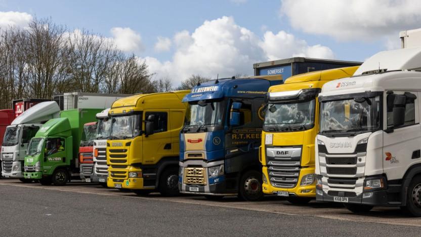 Lkw mit Verbrennungsmotor sollen in Großbritanien verboten werden.