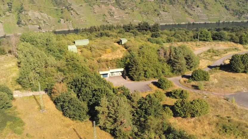Der Cyberbunker liegt oberhalb von Traben-Trarbach auf dem Mont Royal.
