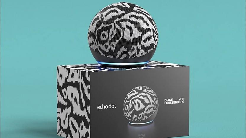 Einer der drei Designer-Echo-Dots