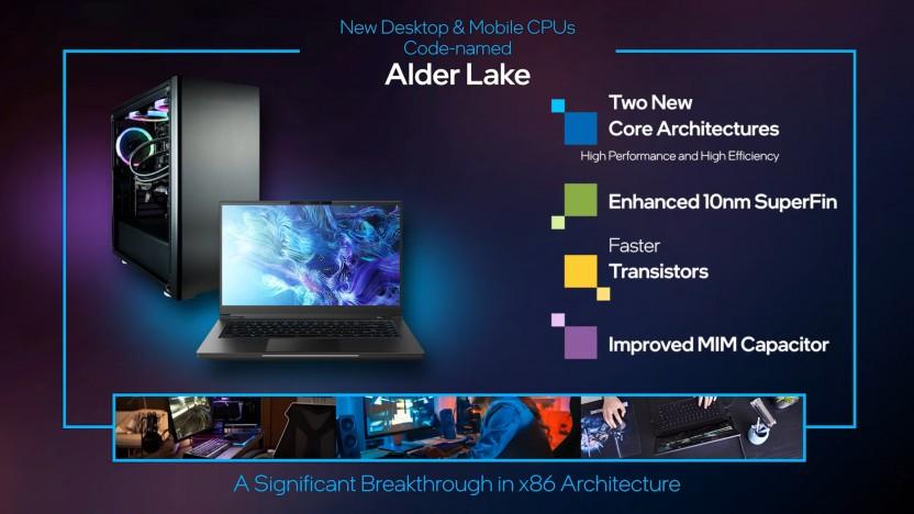 Alder Lake ist ein Hybrid-Design.
