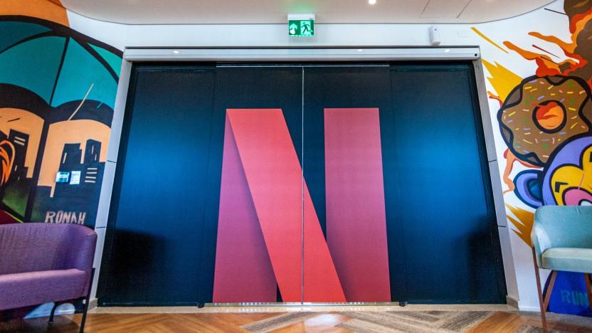 Bild aus dem Hauptquartier von Netflix