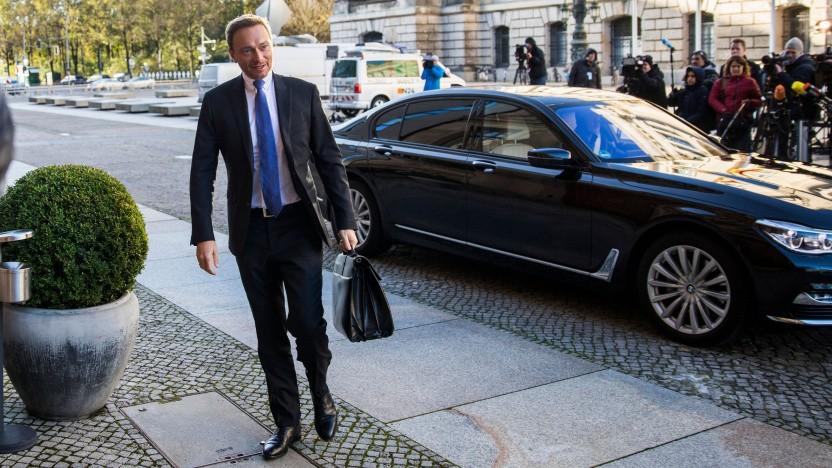 """FDP-Chef Christian Lindner: """"klimapolitisch nicht überzeugend"""""""