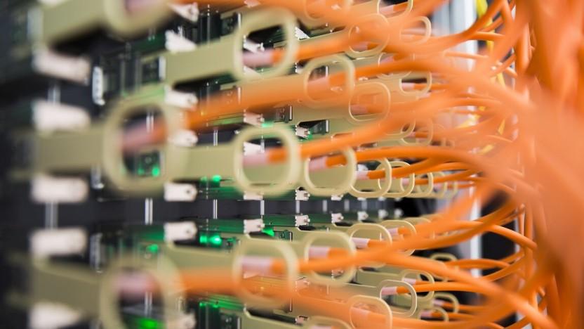 Kabel am DE-CIX