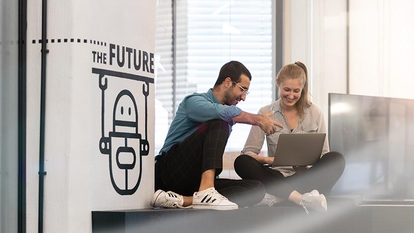 Das Deloitte Digital Office in Düsseldorf