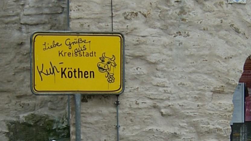 Die Kreisverwaltung von Anhalt-Bitterfeld will sich nicht erpressen lassen.