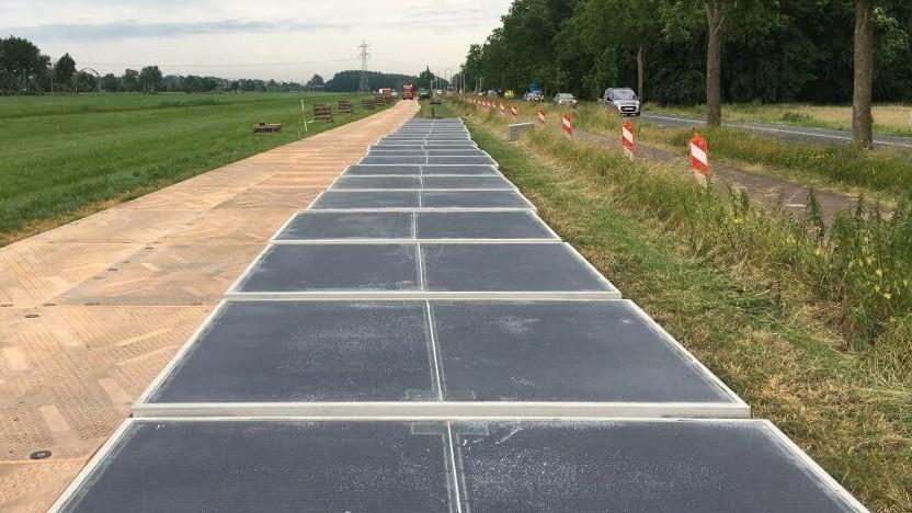 Bauelemente der Solarstraße
