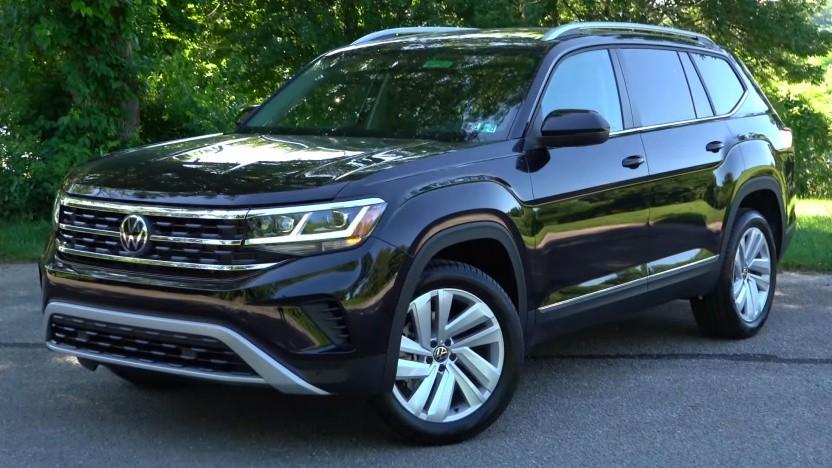 VW Atlas: SUV mit drei Sitzreihen für sieben Insassen