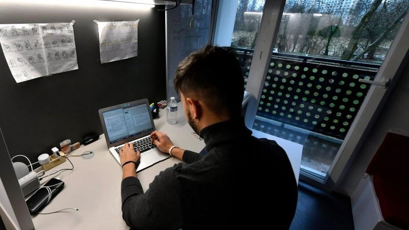 Studenten werden bei Online-Examen oft überwacht.