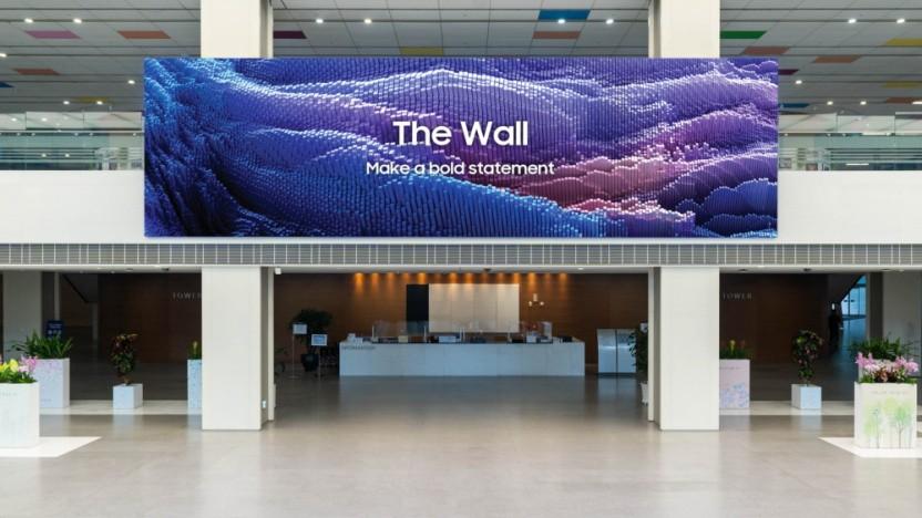 The Wall mit 120 Hz und kleineren Micro-LEDs