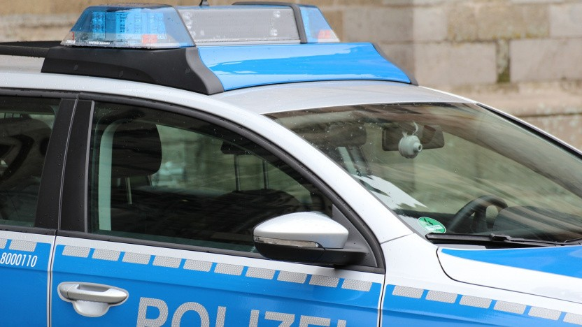 Ein Einsatzfahrzeug der Polizei