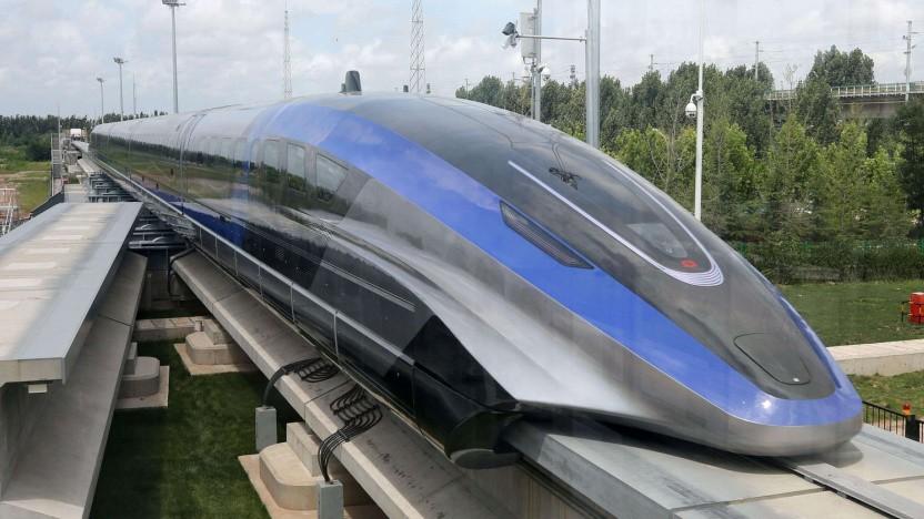 Serien-Maglev von CRRC: ideal für Strecken von etwa 1.500 Kilometer