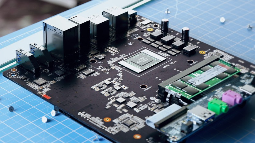 Minisforum arbeitet an einem Kompakt-PC mit Ryzen 9 5900HX.