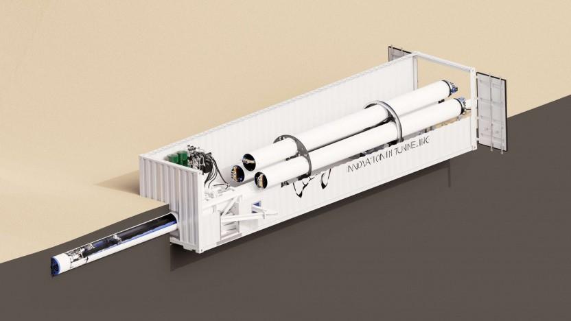 Tunnelbohrmaschine von TUM Boring: 12 von 400 Teams treten in Kalifornien an.