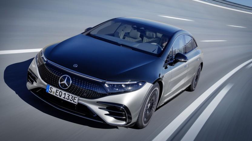 Der EQS ist das neue vollelektrische Topmodell von Mercedes-Benz.