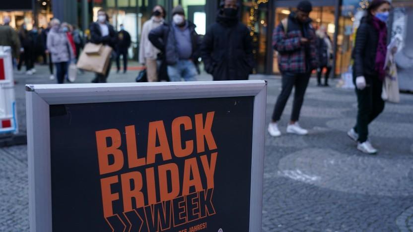 Händler weichen auf Black Friday Week aus.