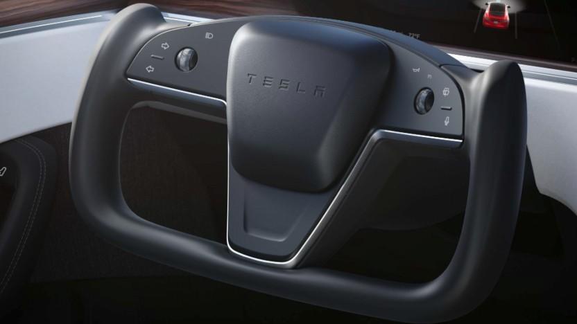 Neues Lenkrad für Model S und Model X