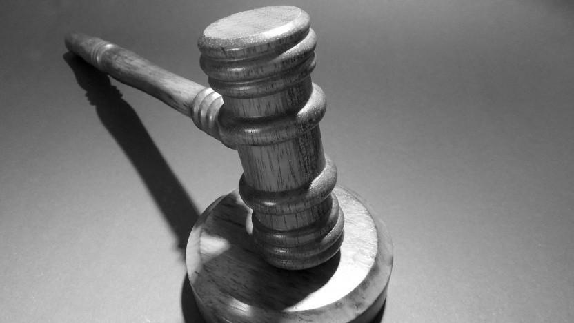 Richterhammer, der von US-Gerichten verwendet wird