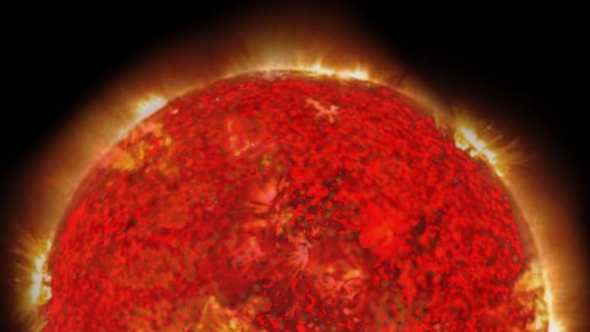 Gacrux ist ein roter Riese - auch unsere Sonne wird zu einem.