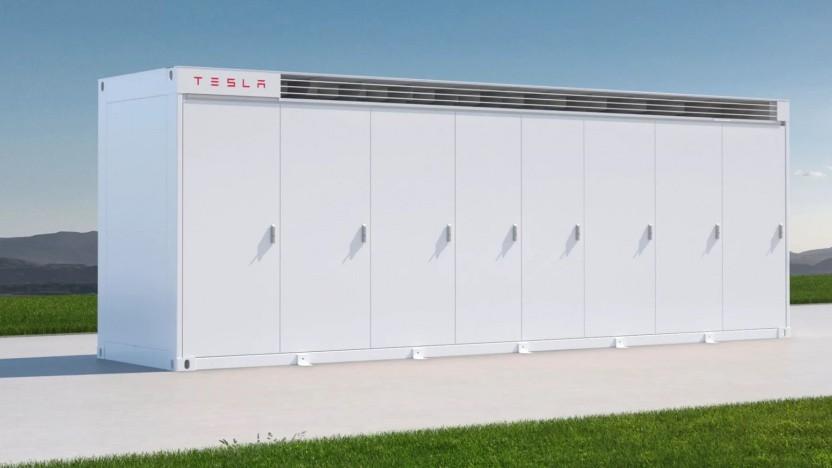 Tesla Megapack - nichts für den Vorgarten